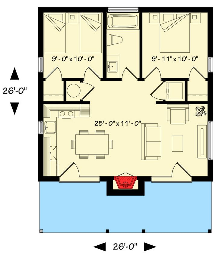 17 best images about house plans first choice on pinterest square feet log cabin house plans - Bedroom house plans optimum choice ...
