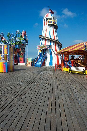 Brighton Pier Funfair #makesmehappy @Blanca Carlson Prado Stuff UK