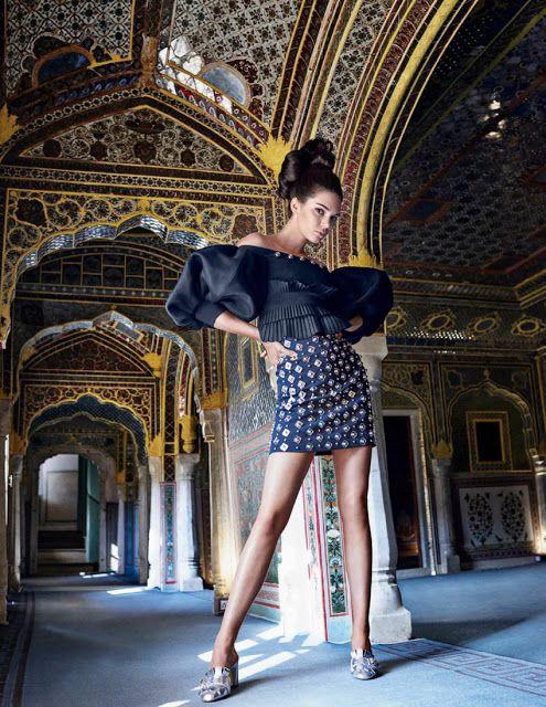Kendall Jenner - Vogue Índia Maio 2017 ~ Editoriais - Revistas de Moda