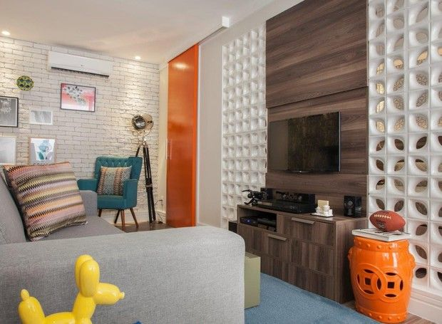Salas De Estar Retro no Pinterest  Retrô Moderno, Sala De Estar  ~ Sala De Estar Retro