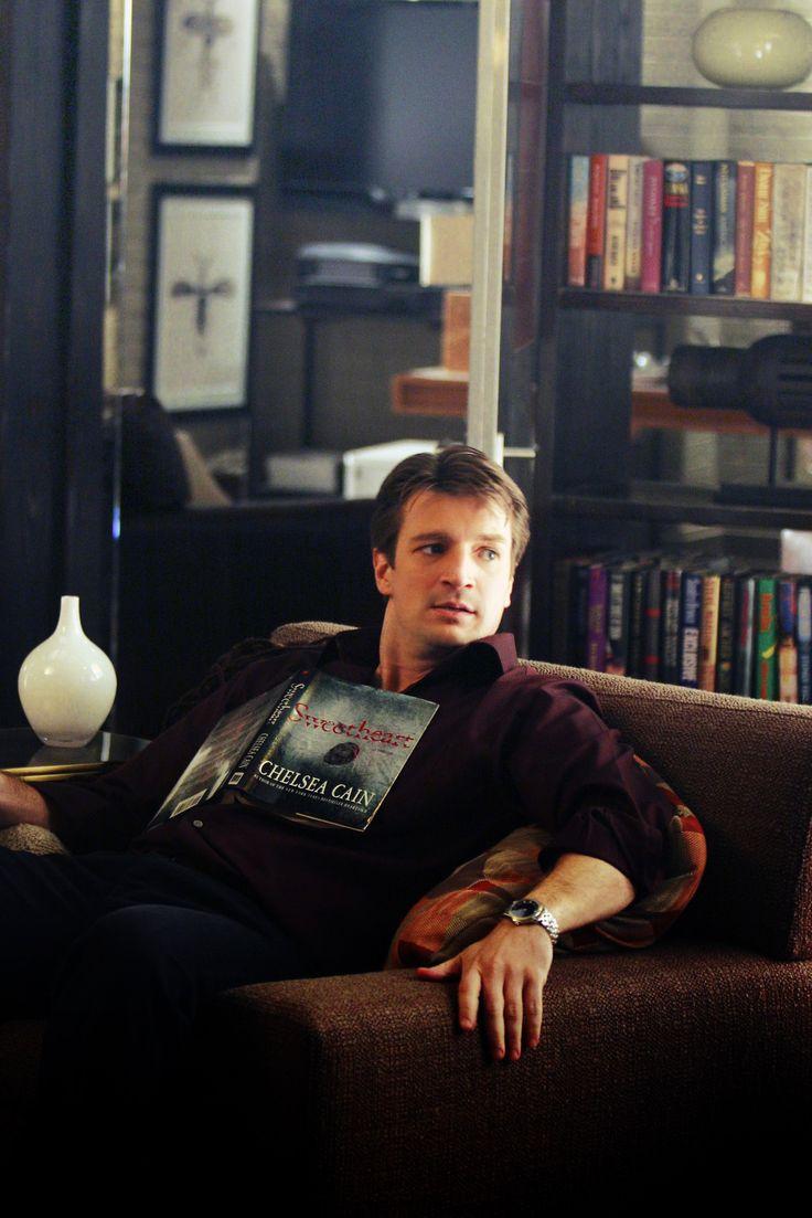 Nathan Fillion #books #librarianlove