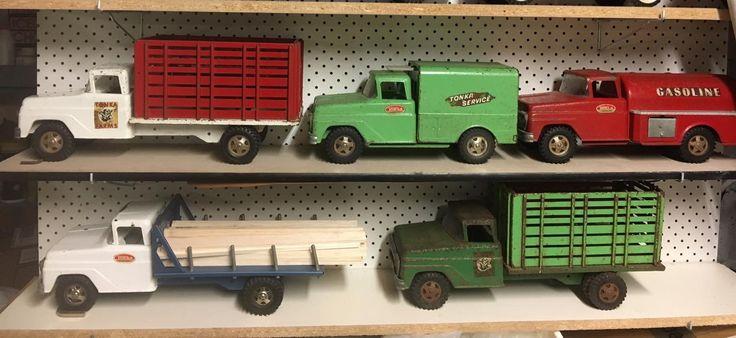 Early Tonka Trucks