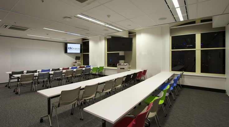 melbourne school college fitout Training room 3