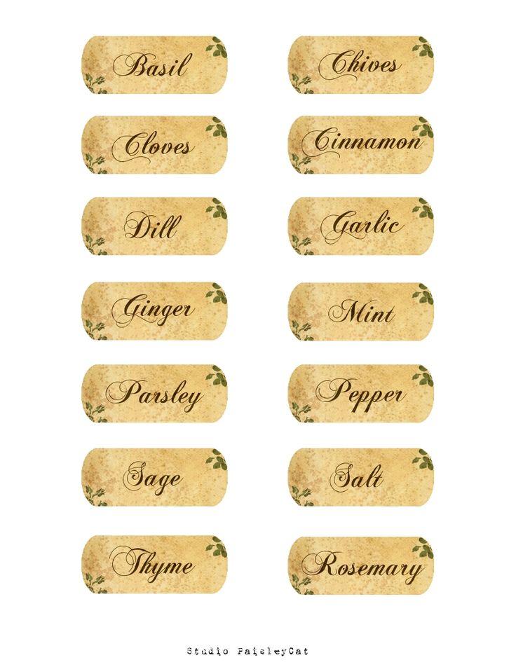 printable labels for jars xv-gimnazija