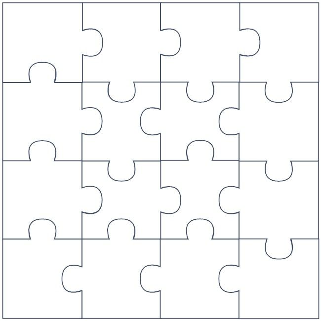 puzzle piece diagram for puzzle bulletin