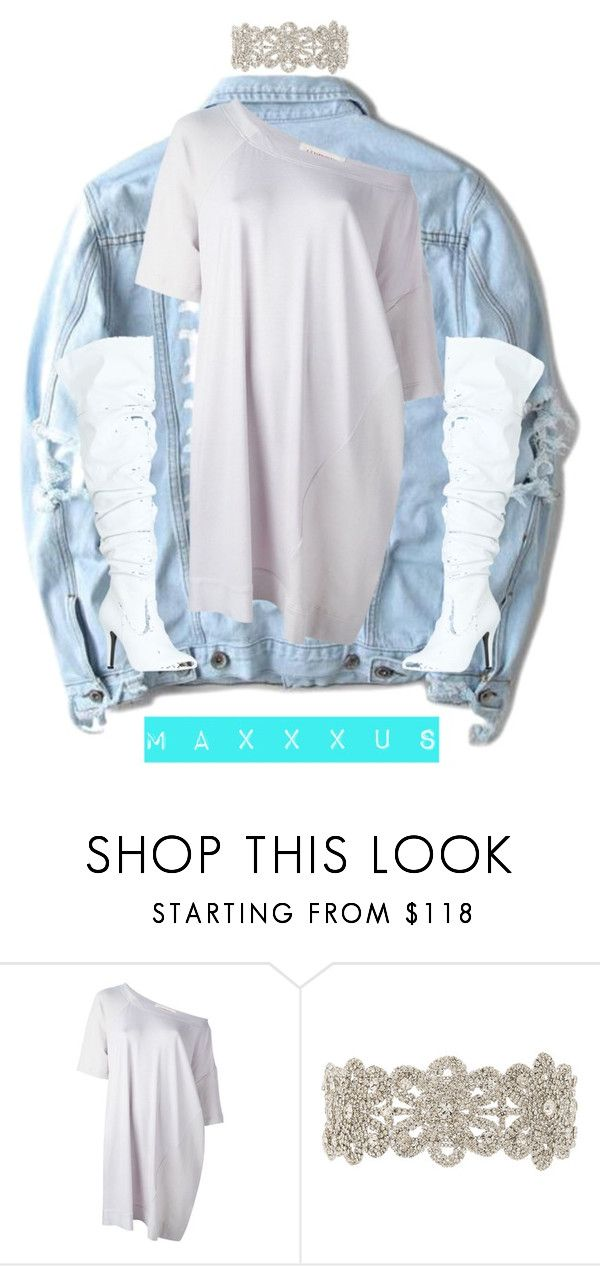 """Untitled #157"" by maxxxus ❤ liked on Polyvore featuring Yeezy by Kanye West, A.F. Vandevorst, Child Of Wild and Forever Link"