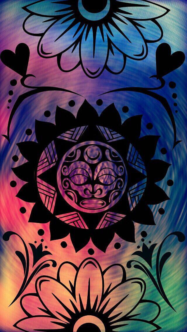 Mandala Hippie WallpaperTrippy WallpaperIphone