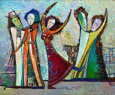 Georgische hedendaagse kunstenaars | Berthi's Weblog