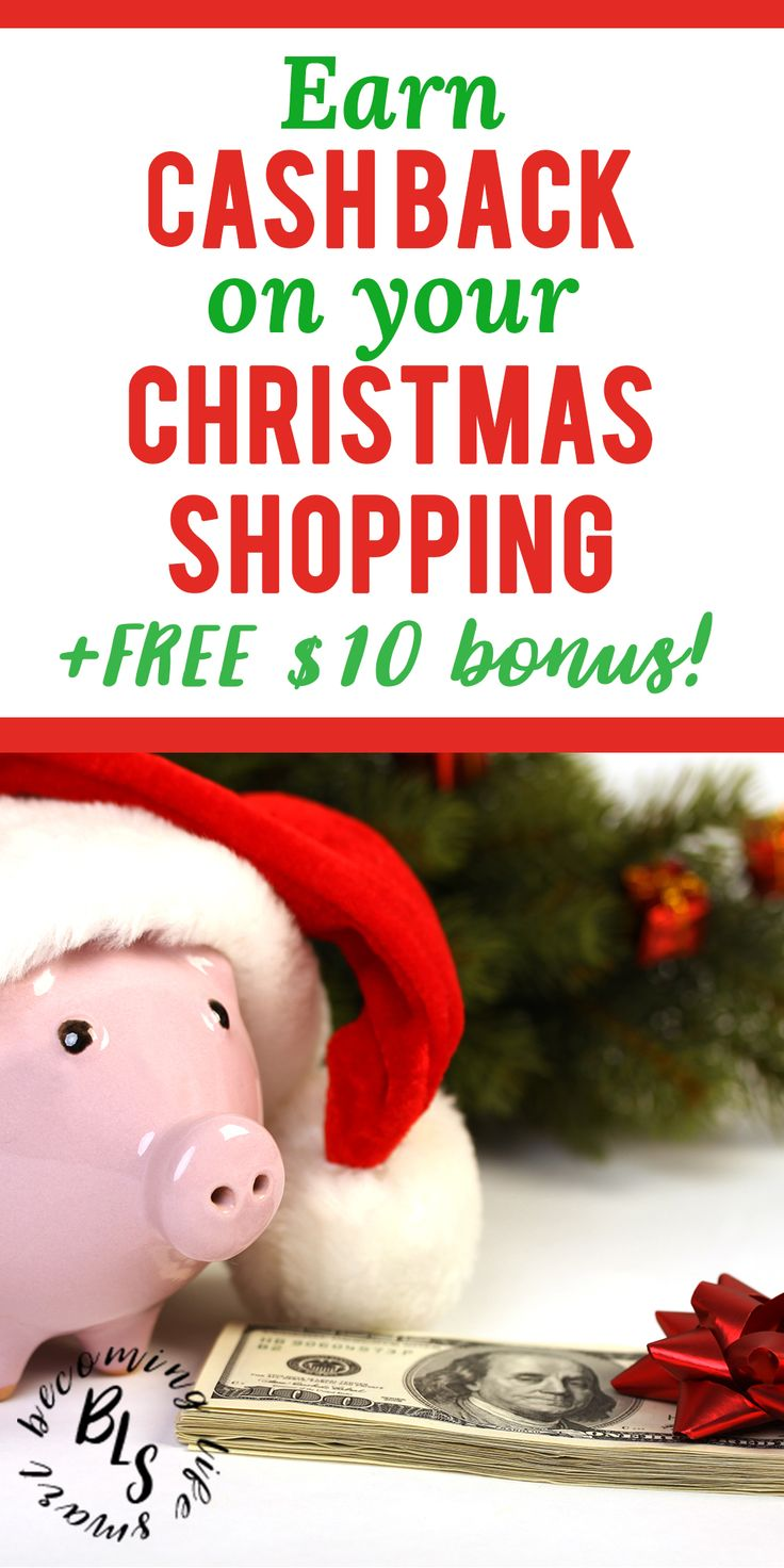 These are great Ebates shopping tips! I can't believe you can make money shopping online just for using Ebates. | Ebates tips saving money | save money Christmas shopping | save money Christmas tips | #christmasgifts #moneytips #christmas #shopping