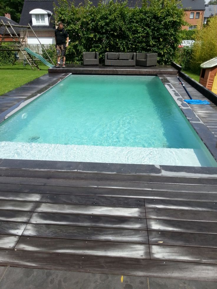 155 best images about zwembaden jr pools on pinterest - Witte pool liner ...