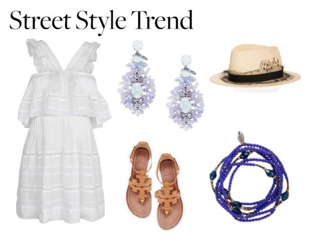 """Summer Dress Streetstyle"" by tresor-maison on Polyvore"
