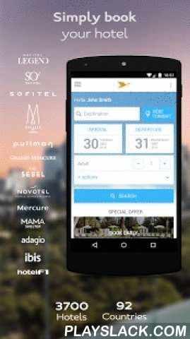 AccorHotels Hotel Booking  Android App - playslack.com ,  NEW! All AccorHotels group applications (ibis, Novotel, Mercure, Sofitel, Pullman, MGallery, Suite Novotel, Adagio, ibis Styles, ibis budget, hotelF1, Mama Shelter, etc.) are merging with the AccorHotels application! Now you can find all your favourite brands on a single app. Download the AccorHotels app to take advantage of exclusive services!1) Booking a hotel has never been so simple: • Book your hotel night from amongst the…