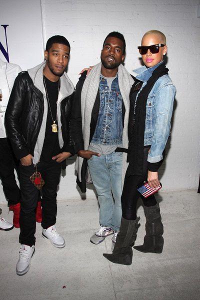 Cudi and Kanye with Ember...Nice retors Kid...