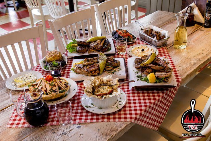 """Μπες και εσύ στο ψητό με ολόφρεσκα κρέατα και όχι μόνο!!!  Ο καλύτερος τρόπος για να περάσει η εβδομάδα είναι στις """"Τηγανιές & Σχάρες"""". Μπες και εσύ στο ψητό και από το σπίτι, στο www.tiganiesdelivery.gr #ΤηγανιέςΣχάρες #μπες_στο_ψητο #αγαπαμε_το_κρεας #Ψητοπωλείο #Θεσσαλονίκη #Λαδάδικα #Καυταντζόγλου"""