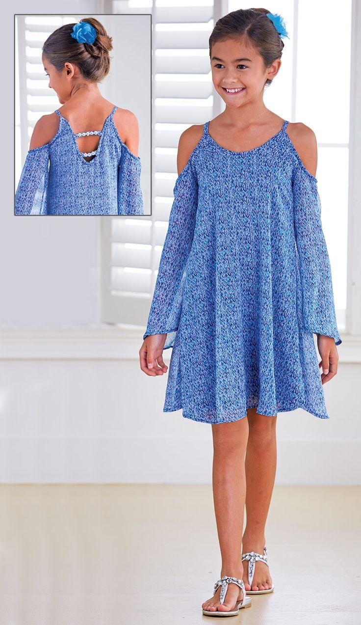 From CWDkids: Open Shoulder Dress
