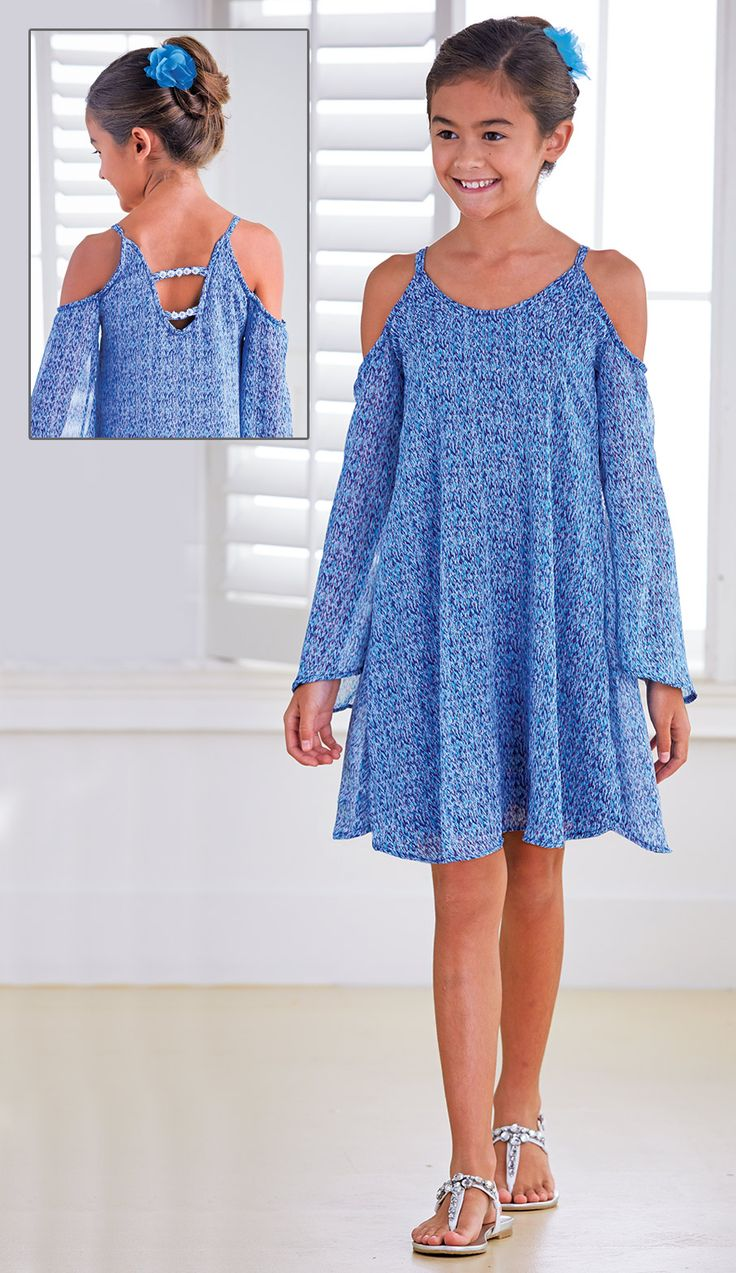 From CWDkids: Open Shoulder Dress