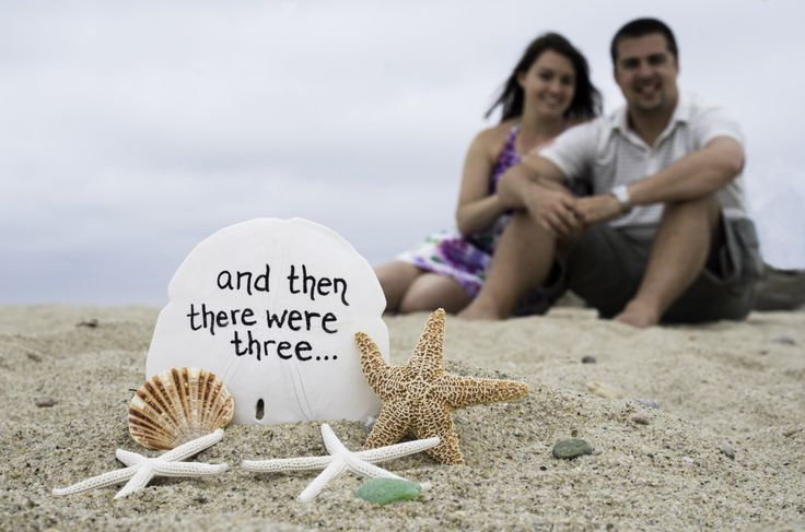Beach Baby Announcement