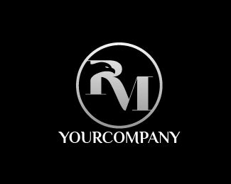 LOGO RM EAGLE COMPANY Logo design - this logo for business consulting with RM letter and eagle Price $125.00