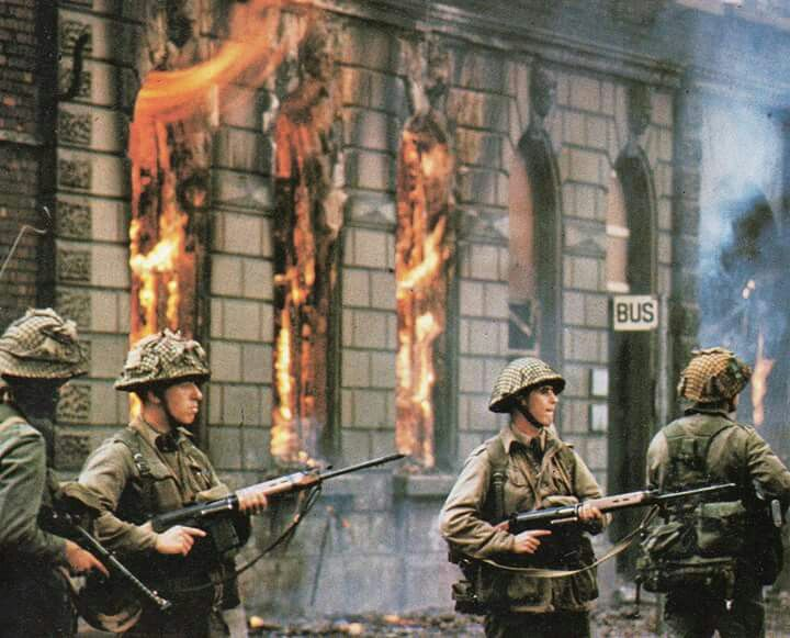 96f50d293e Troops arrive on the streets of Ulster 1969