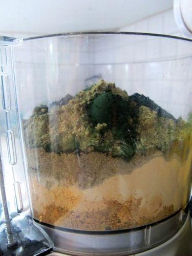 DIY protein powder (vegan) -- MUST TRY! Isagenix is too effing expensive :(