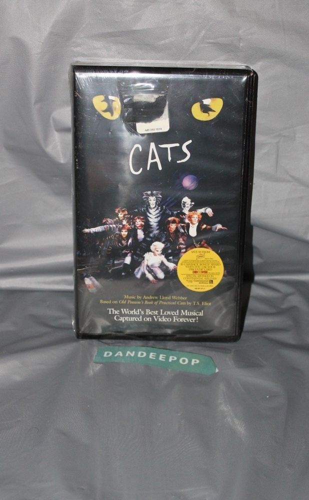 Cats The Musical (VHS, 1998) Broadway Movie cats broadway