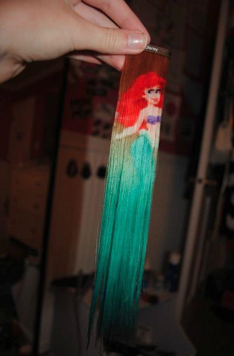 Ariel hair extensionLittle Mermaids, Mermaid Hair, Hair Extentions, Disney Princesses, Disney Hair, Ariel Hair, The Little Mermaid, Hair Extened, Hair Extensions