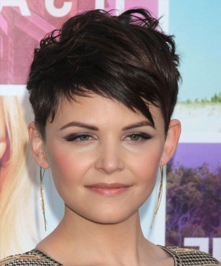 Top 10 Pixie Hairstyles For Round Faces #shortpixi…