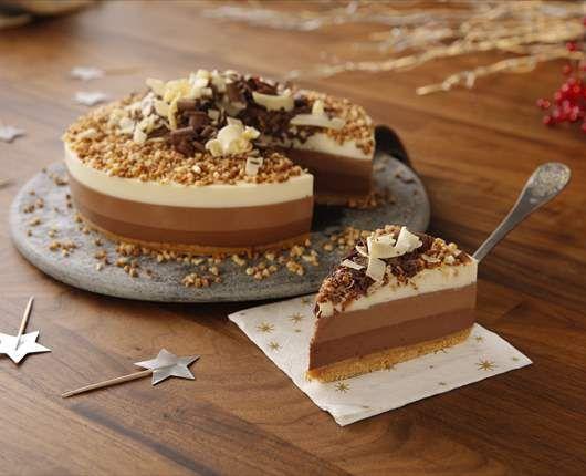 Trois gâteaux au chocolat pour Noël   – miri