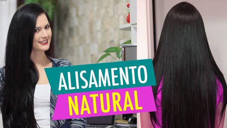 ALISAMENTO NATURAL com MAIZENA Leite e Açúcar! por Julia Doorman
