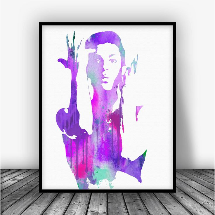 Prince Parade Art Print Poster From $10.00  #FamousPeople #AllPrints #CelebrityArt #Celeb #famous #Art #Celebrity #ArtPrint #FamousStarPrint #FamousStar