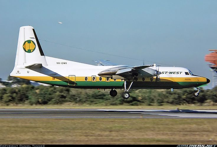 Fokker F-27-500 Friendship - East-West Airlines | Aviation Photo #2587615 | Airliners.net