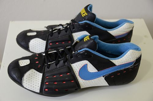 Vintage Nike Cycling Shoes. I have to say they're pretty sweet.