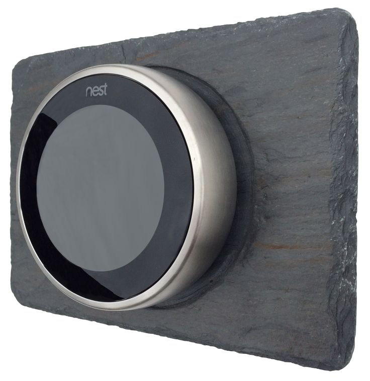 Wall Trim Kit For The Nest Learning Thermostat By Slatewallplates.com