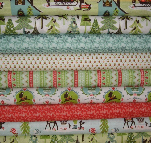 I want this fabric! Alpine Woodland by Sherri Berry Designs