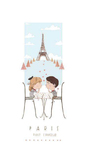 have a look at all http://www.pinterest.com/pin/149041068891238984/  Paris in love by Joe Waldron