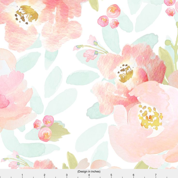 Floral Watercolor Fabric - Indy Bloom Pink Plush Florals By Indybloomdesign - Modern Watercolor Cotton Fabric By The Yard With Spoonflower by Spoonflower on Etsy https://www.etsy.com/listing/485541666/floral-watercolor-fabric-indy-bloom-pink