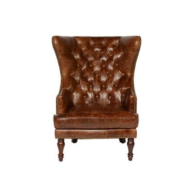 lazzaro leather sedgefield wing back tufted back coco brompton chair find this pin and more on accent chairs
