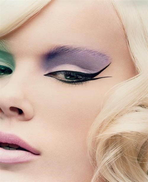 Pastels and Winged Liner! More fashion, lifestyle and beauty over at www.breakfastwithaudrey.com.au