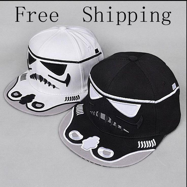 2016 Fashion Brand Star Wars Snapback Caps Cool Letter Strapback Bboy Baseball Cap Hip-Hop Hats Men's hats Women Fit