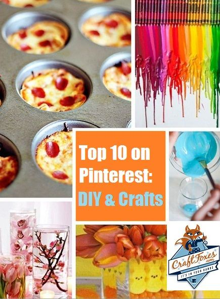 Top 10 on Pinterest: DIY & Crafts Projects #Pinterest #craft