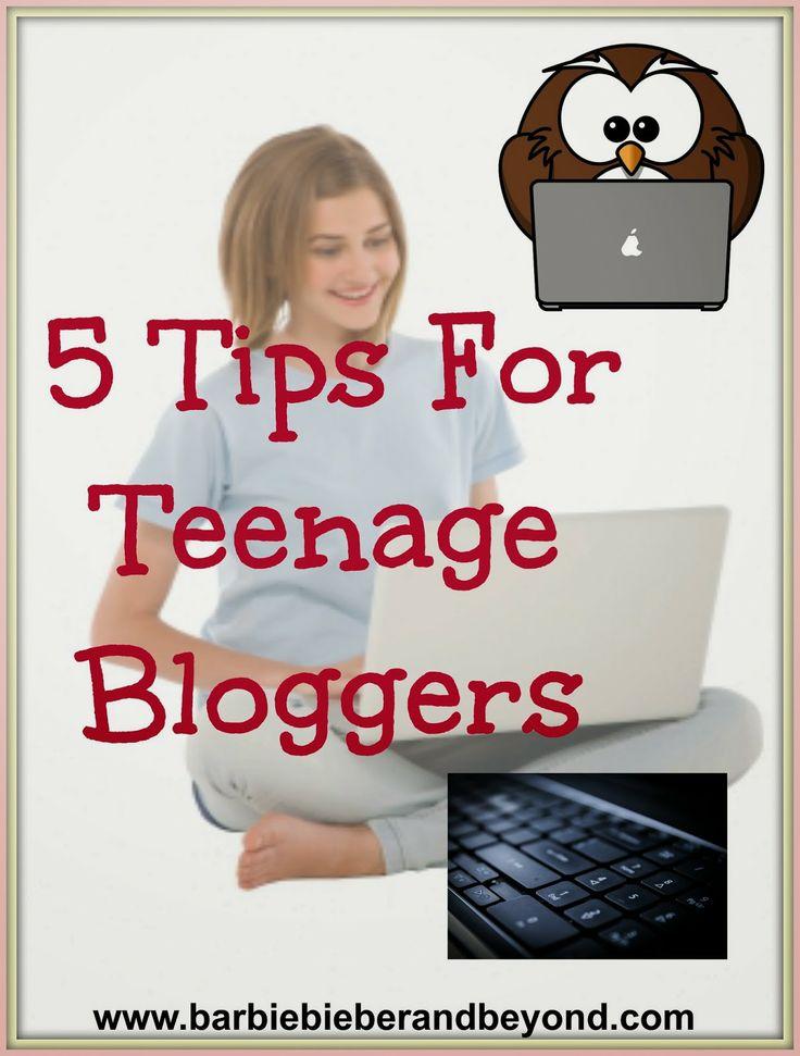 5 Tips for Teen Bloggers #bloggingtips #teenbloggers