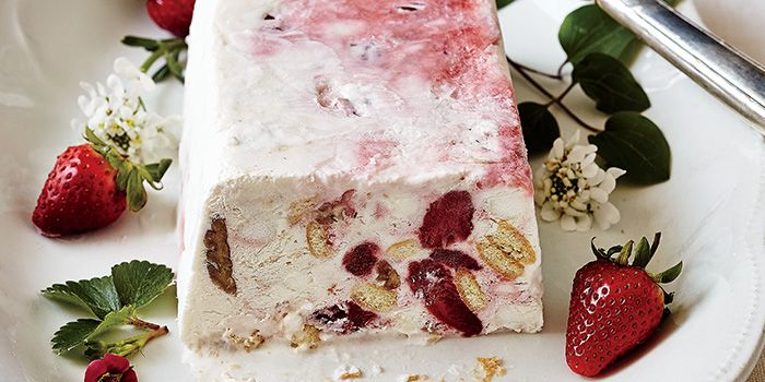 Strawberry Delight: This icebox dessert is a busy host's best friend. #southernfood #gardenandgun