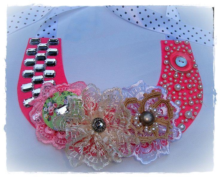 """Colier """" Pink Romance"""" (75 LEI la cardenn.breslo.ro)"""