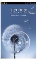 Theme Name : Galaxy S3 Lock Screen for go locker