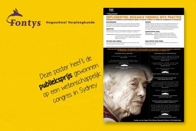 Wetenschappelijke poster Fontys