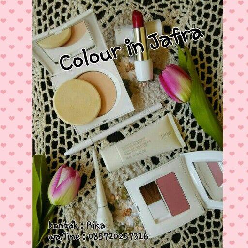 Colour in Jafra.. kosmetik alami yg melengkapi pesona cantikmu