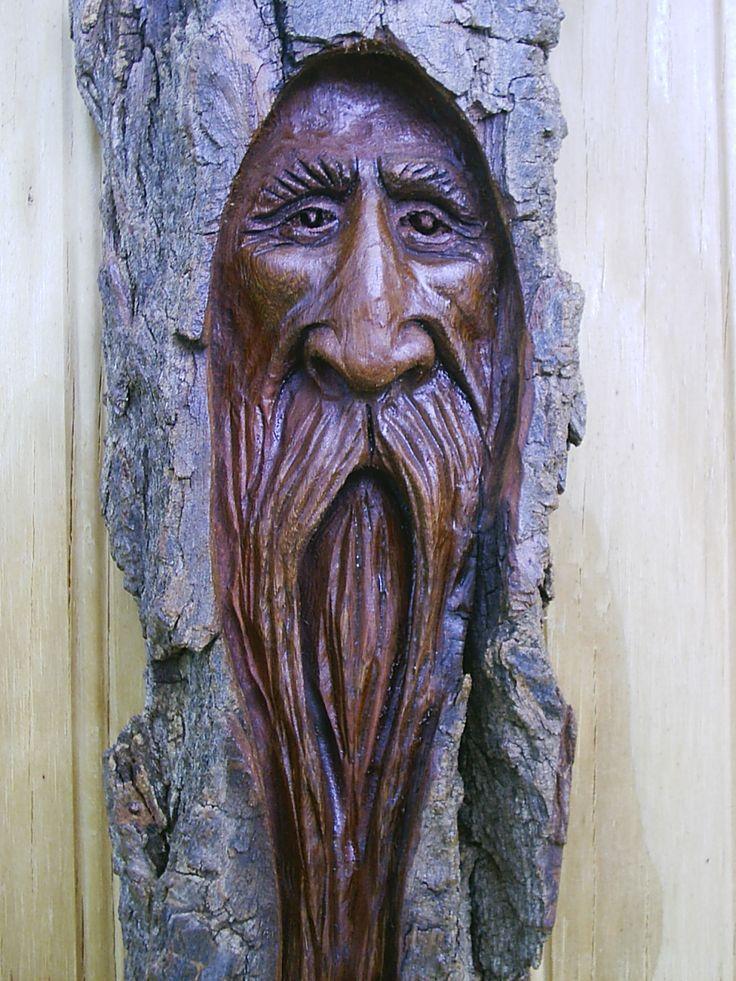Wood spirit spirits pinterest carving