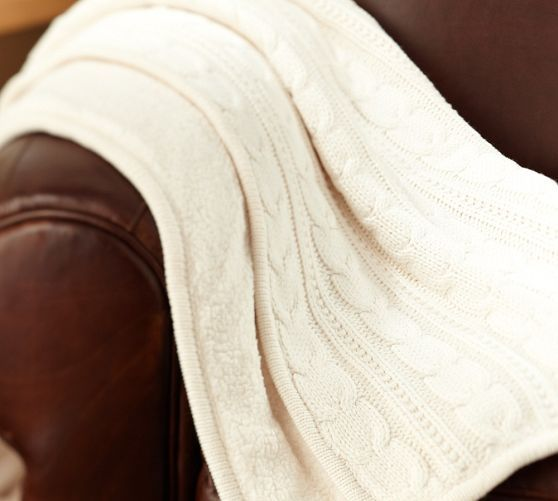 sheepskin for extra warmth and comfort. Woven of a soft cotton-acrylic blend. Reverses to polyester faux-sheepskin microfiber. Machine wash....