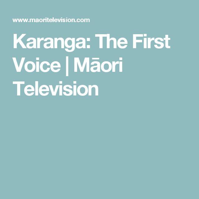 Karanga: The First Voice   Māori Television