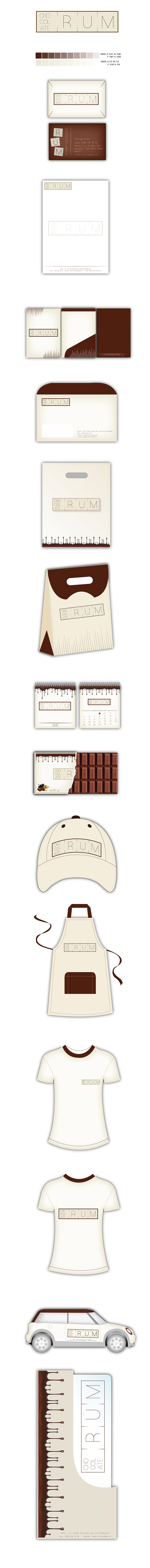 Rüm Chocolate on Behance